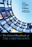 Cover for The Oxford Handbook of the Corporation