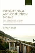 Cover for International Anti-Corruption Norms