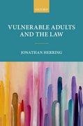 Cover for Vulnerable Adults and the Law