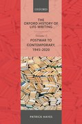 Cover for The Oxford History of Life-Writing