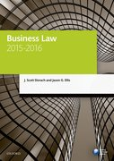 Cover for Business Law 2015-2016