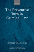 Cover for The Preventive Turn in Criminal Law