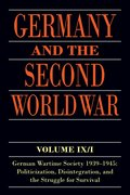 Cover for Germany and the Second World War