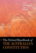 Cover for The Oxford Handbook of the Australian Constitution