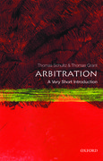 Cover for Arbitration: A Very Short Introduction