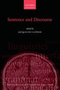 Cover for Sentence and Discourse