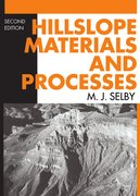 Cover for Hillslope Materials and Processes