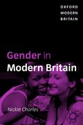 Cover for Gender in Modern Britain