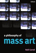 Cover for A Philosophy of Mass Art