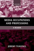 Cover for Media Occupations and Professions