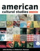 Cover for American Cultural Studies
