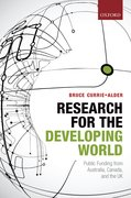 Cover for Research for the Developing World