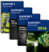 Blackstone's Police Q&A: Four Volume Pack 2016