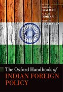 Cover for The Oxford Handbook of Indian Foreign Policy