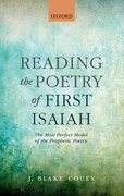 Cover for Reading the Poetry of First Isaiah