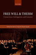 Cover for Free Will and Theism