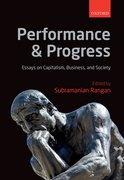 Cover for Performance and Progress