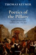 Cover for Poetics of the Pillory