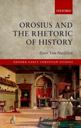 Cover for Orosius and the Rhetoric of History