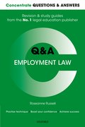 Cover for Concentrate Questions and Answers Employment Law