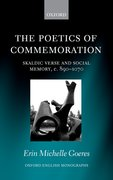 Cover for The Poetics of Commemoration