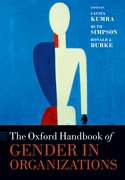 Cover for The Oxford Handbook of Gender in Organizations