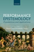 Cover for Performance Epistemology