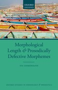 Cover for Morphological Length and Prosodically Defective Morphemes