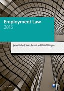 Cover for Employment Law 2016
