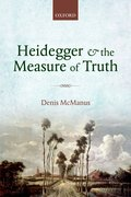 Cover for Heidegger and the Measure of Truth