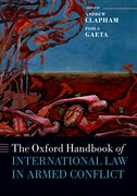 Cover for The Oxford Handbook of International Law in Armed Conflict