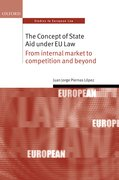 Cover for The Concept of State Aid Under EU Law