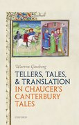 Cover for Tellers, Tales, and Translation in Chaucer