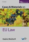 Cover for Cases & Materials on EU Law