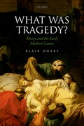 Cover for What Was Tragedy?