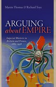 Cover for Arguing about Empire