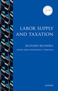 Cover for Labor Supply and Taxation