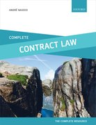 Cover for Complete Contract Law