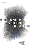 Cover for Modernism and Close Reading