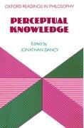 Cover for Perceptual Knowledge