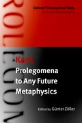 Cover for Prolegomena to Any Future Metaphysics