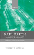 Cover for Karl Barth