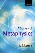 Cover for A Survey of Metaphysics