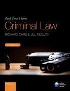 Cover for Card, Cross & Jones Criminal Law