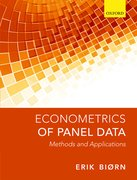Cover for Econometrics of Panel Data