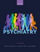 Cover for Psychiatry - 9780198754008