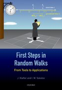 Cover for First Steps in Random Walks