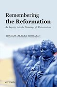 Cover for Remembering the Reformation - 9780198754190