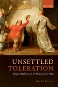 Cover for Unsettled Toleration
