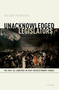 Cover for Unacknowledged Legislators